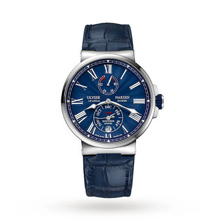 Ulysse Nardin Marine Chronometer Annual Calender Manufacture Men's Watch