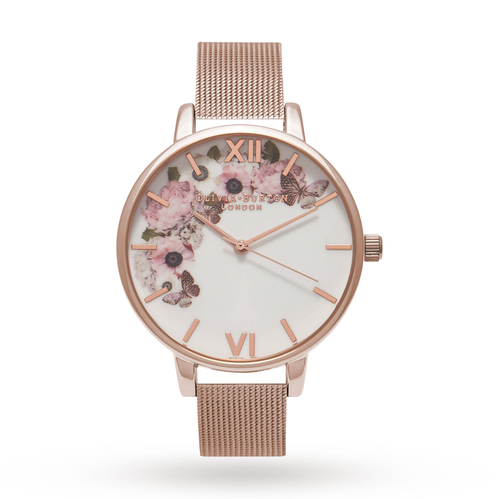 Olivia Burton Ladies Winter Garden Watch