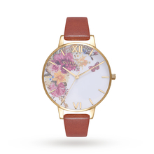 Olivia Burton Enchanted Garden Tan & Gold