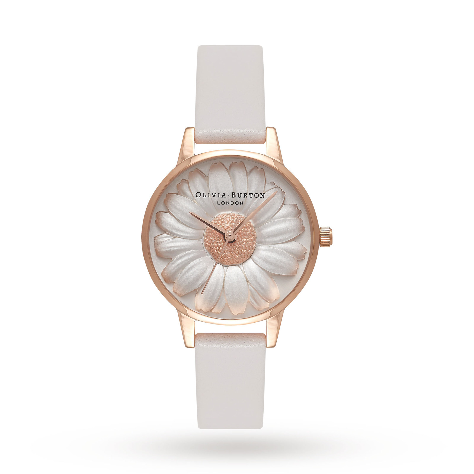 Ladies Olivia Burton Vegan Friendly 3D Daisy Watch OB16VE01