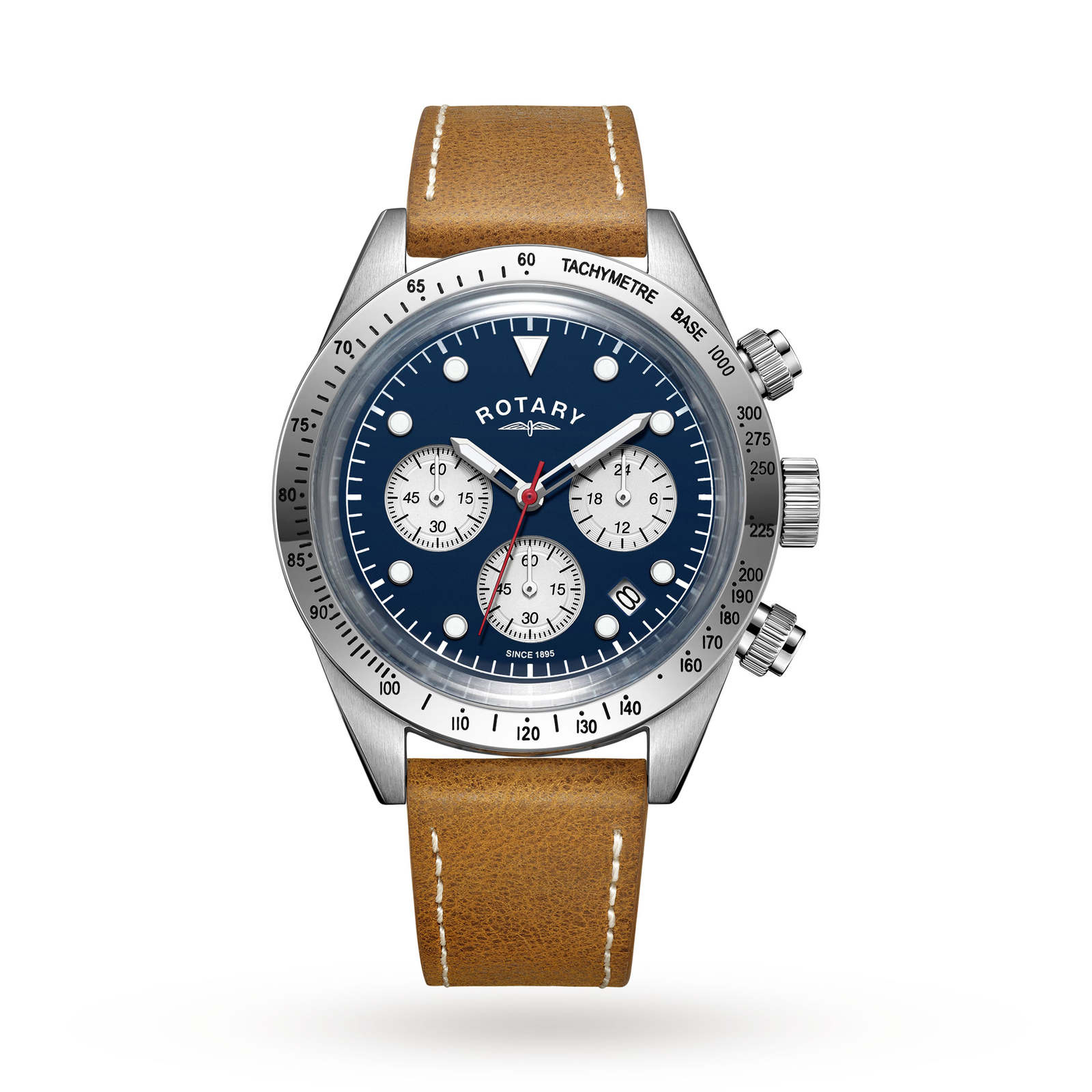 Mens Rotary Exclusive Vintage Chronograph Watch GS00600/05 ...