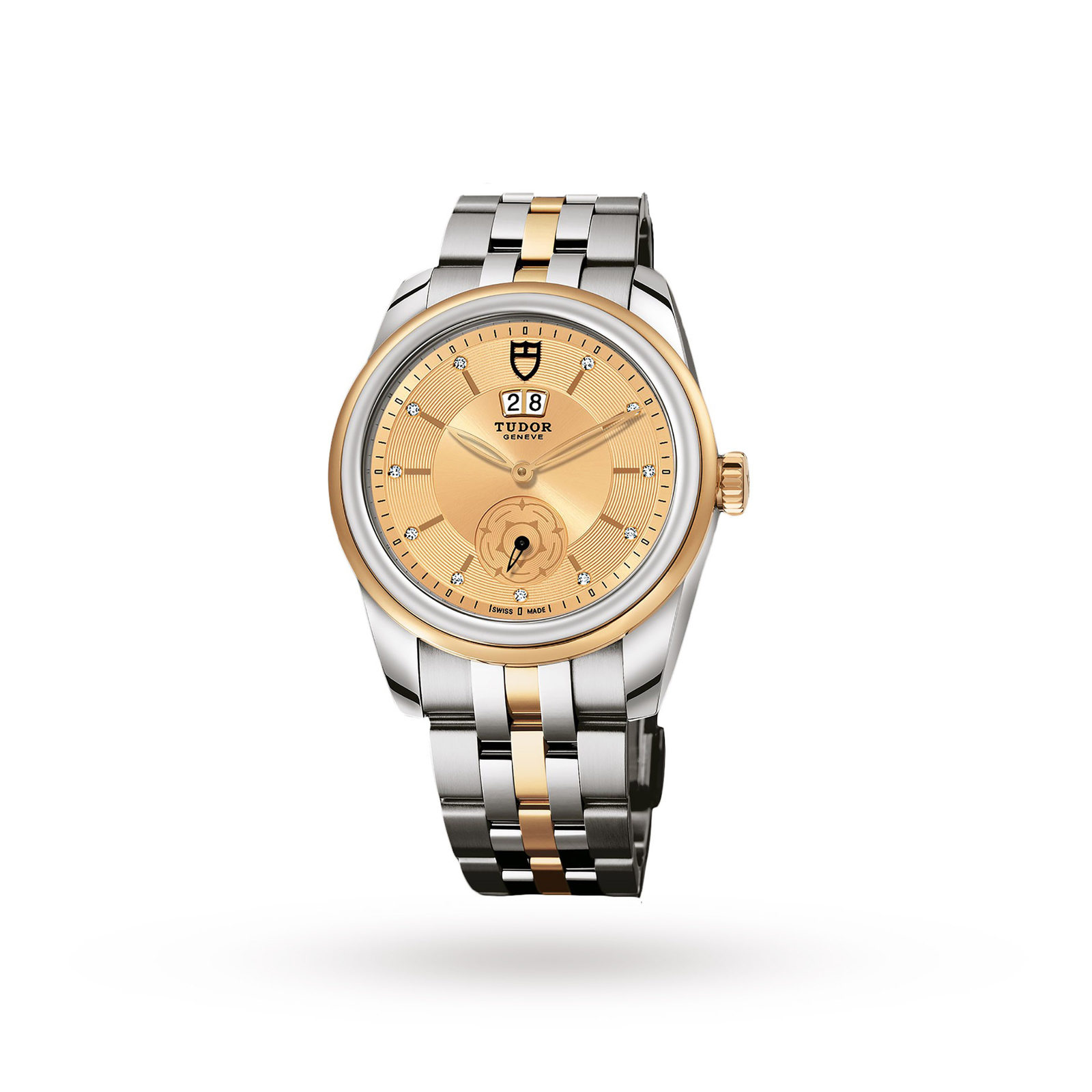 elegance womens tone japan watch citizen gold watches product quartz accent