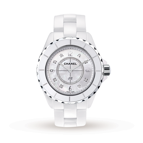 Chanel J12 White Ceramic and Steel H3214 38mm