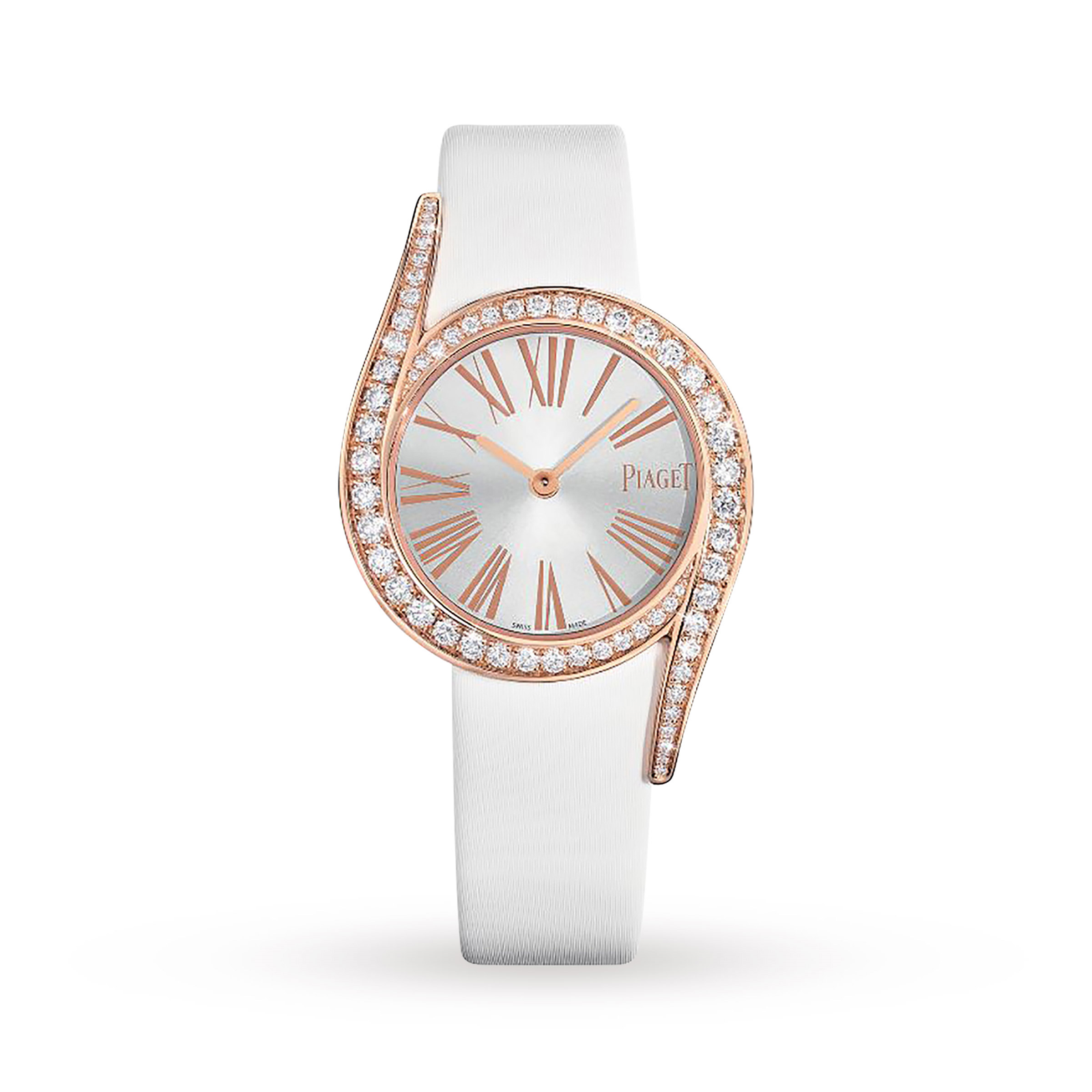 watch in pink strap gold new possession diamond watches white piaget