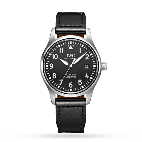 IWC Pilot's Mark XVIII 40mm Mens Watch IW327009
