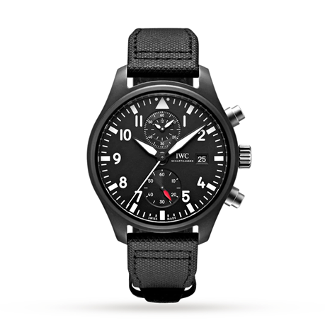 IWC Pilot's TOP GUN 44mm Mens Watch IW389001