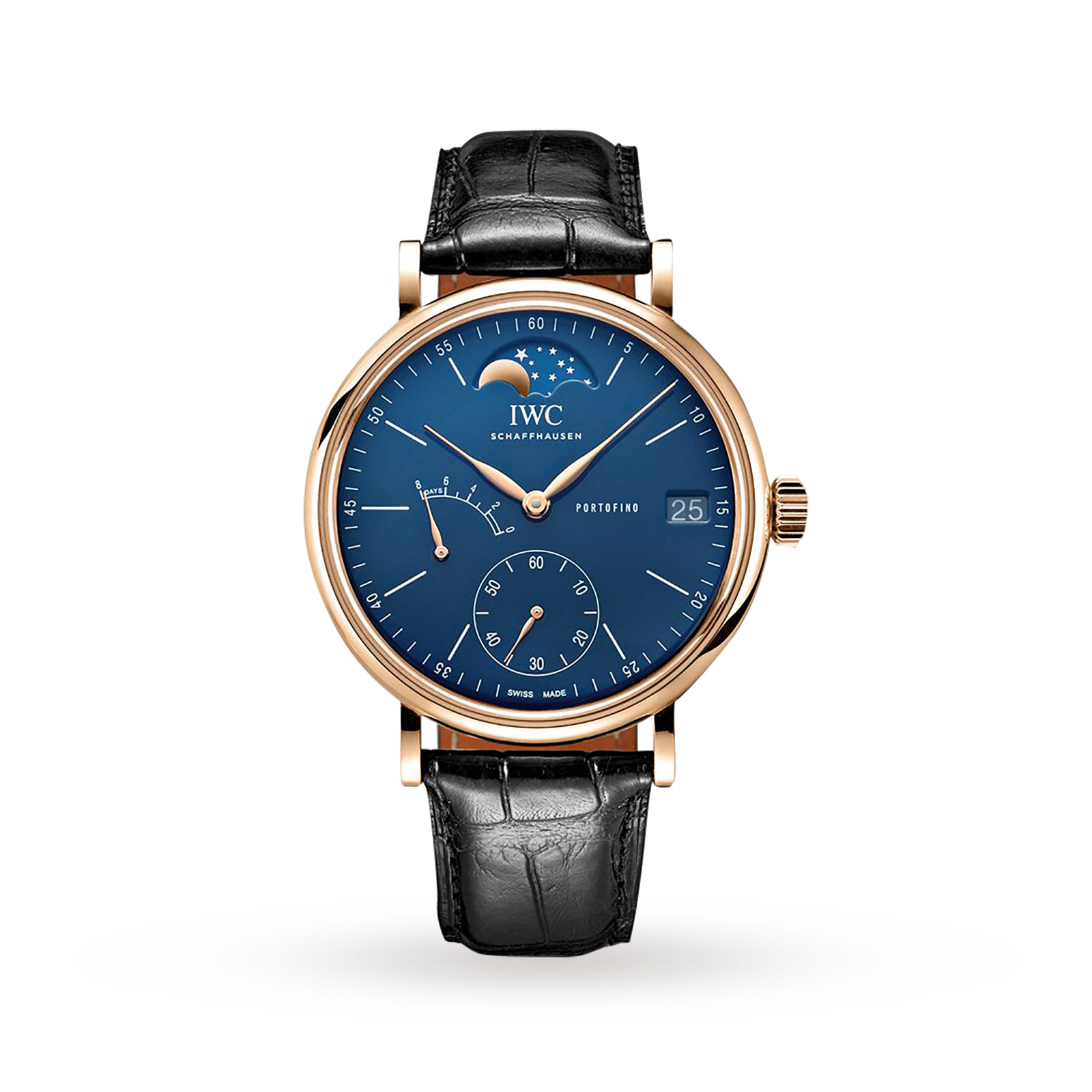 IWC Portofino Hand-Wound Moon Phase Edition 150 Years