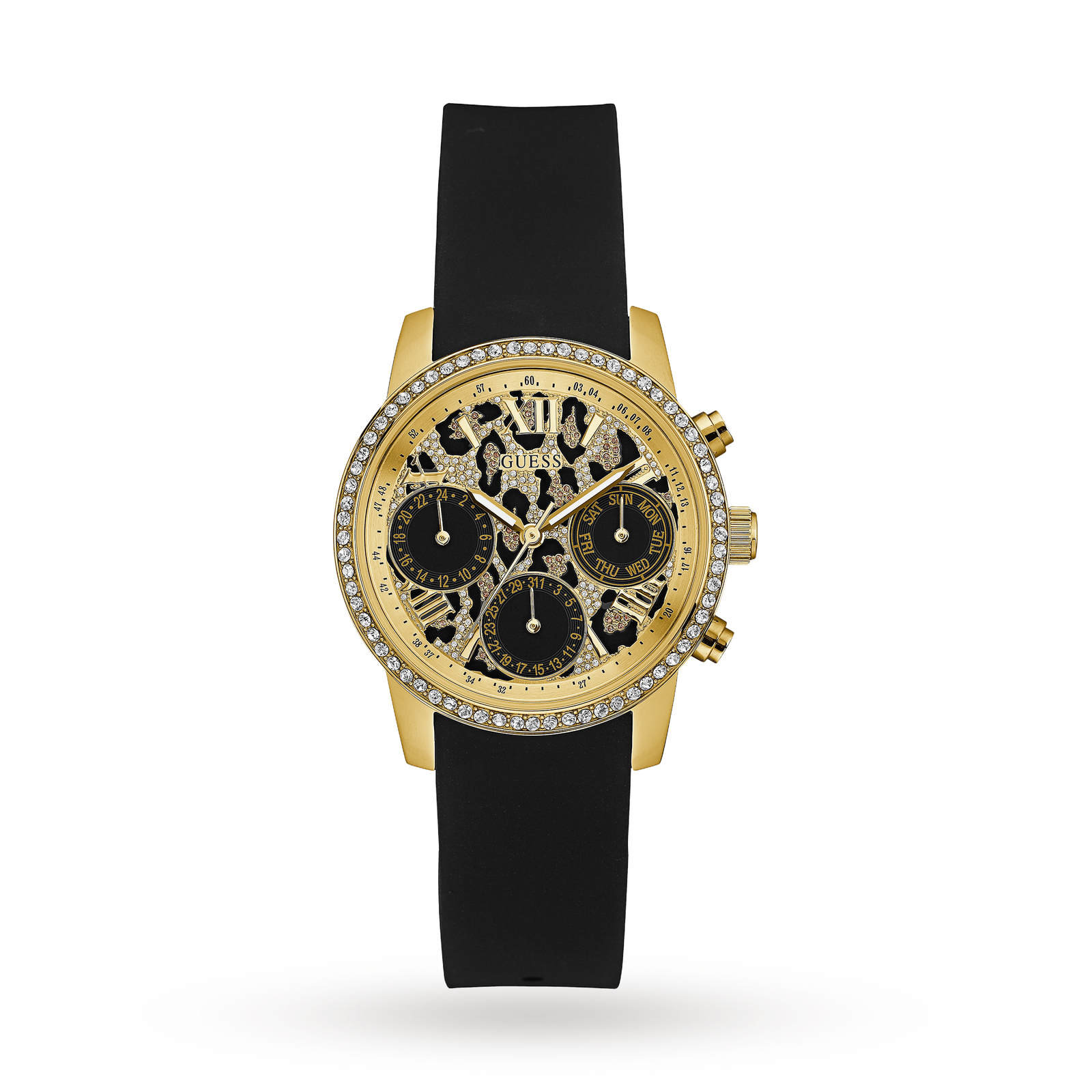 Guess Ladies Time To Give Chronograph Watch