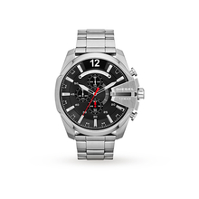 Diesel Mega Chief Stainless Steel Mens Watch