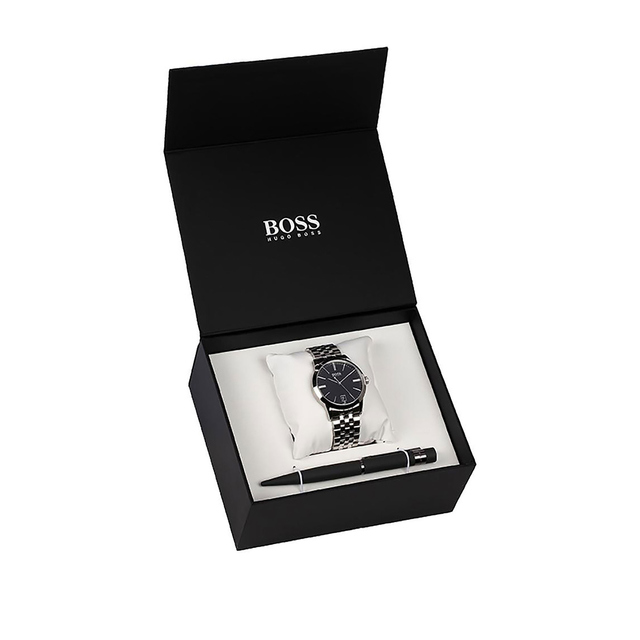 Hugo Boss Gents Watch And Pen Set 1570048