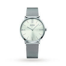 Mens Hugo Boss Jackson Steel MESH Strap Watch