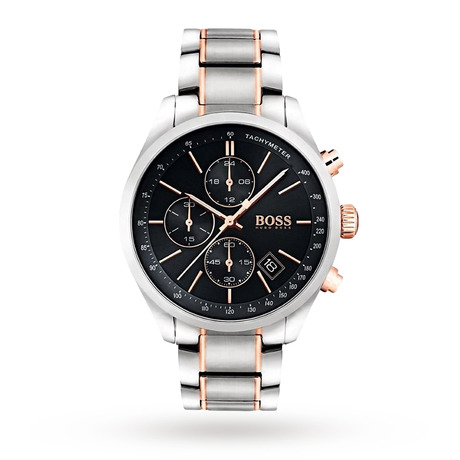 BOSS Mens Grand Prix Chronograph Watch