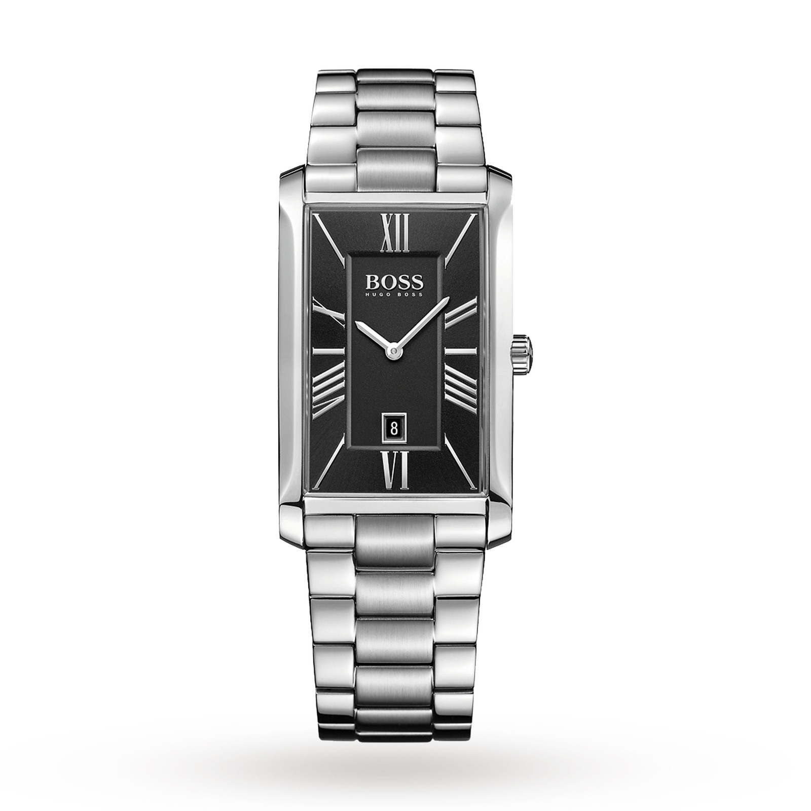 rectangular watches xxiv quartz jewelry s overstock akribos today free watch ceramic men bracelet product mens black shipping