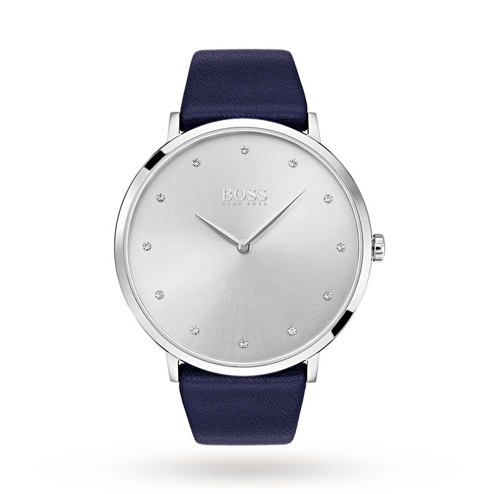 Hugo Boss Ladies Jillian Blue Strap Watch