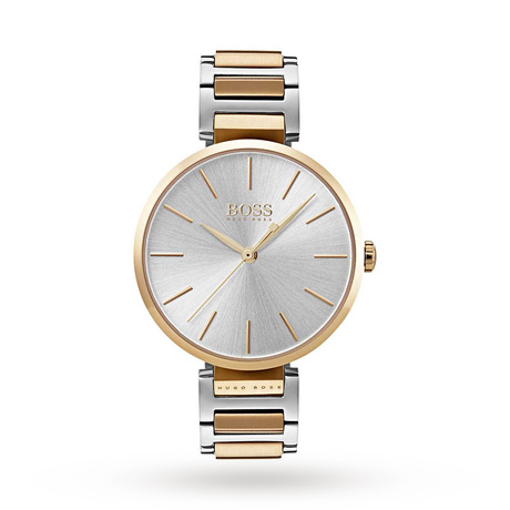 BOSS Ladies Allusion Two Tone Bracelet Watch