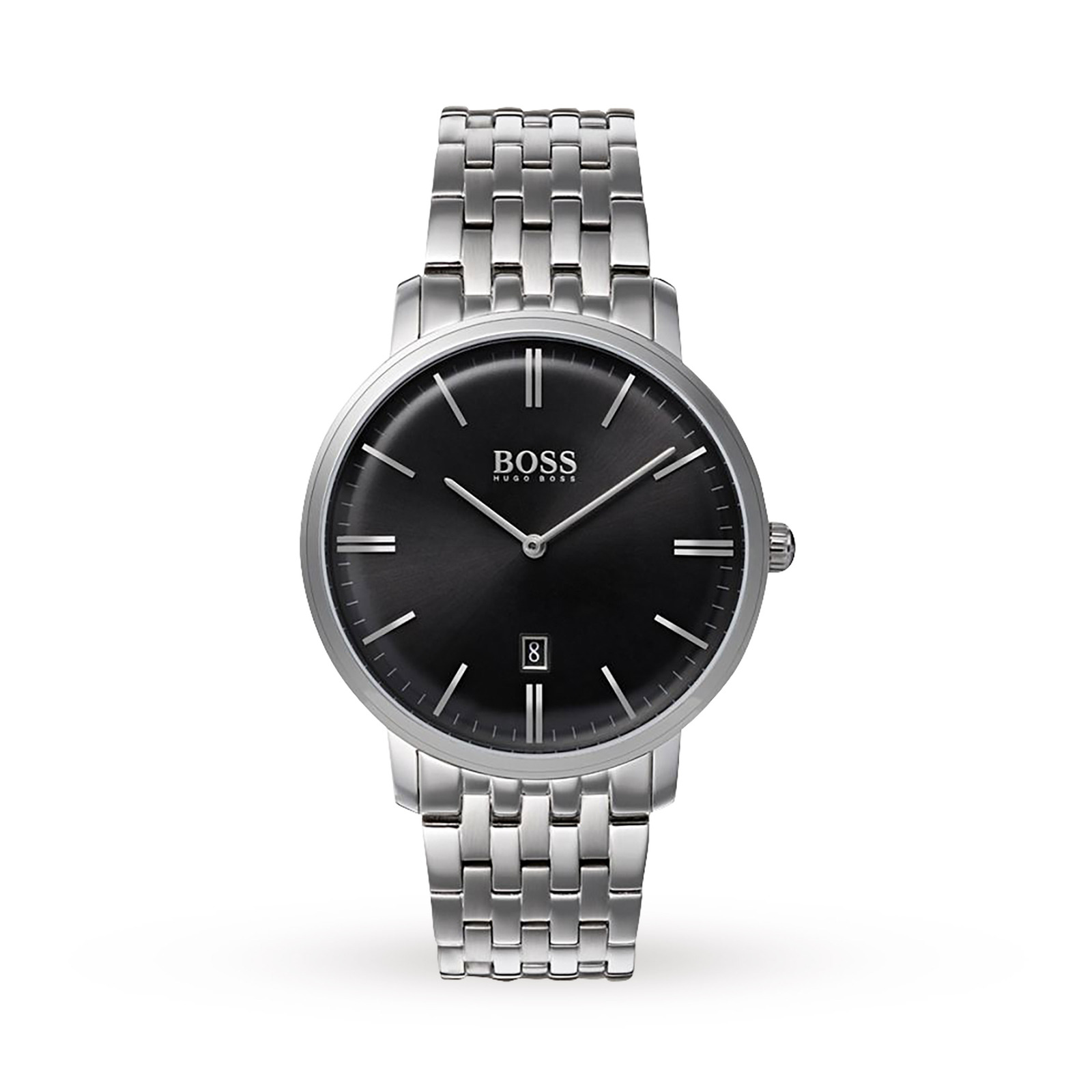 Hugo Boss Stainless Steel Quartz Mens Watch