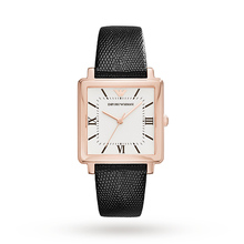 Emporio Armani Rose Gold Plated Ladies Watch