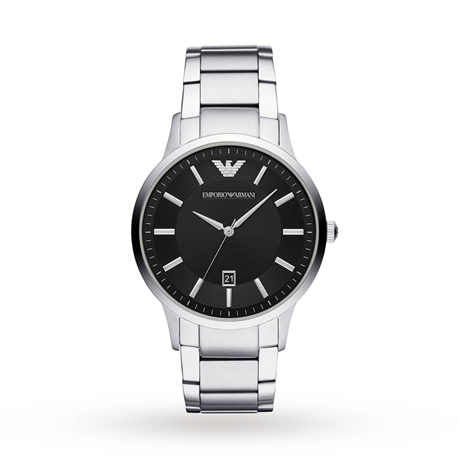 Armani Renato Black Gents Watch AR11181
