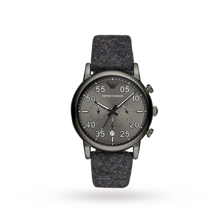 Armani Luigi Black and Grey Gents Watch AR11154