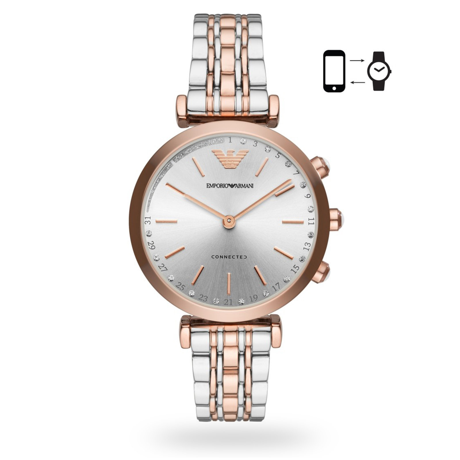 Emporio Armani Connected Ladies Hybrid Smartwatch