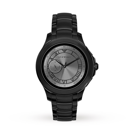 Armani Alberto Connected Black and Grey Gents Watch ART0110