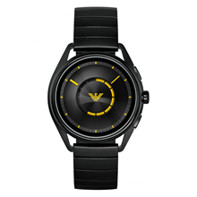 Armani Connected Black and Yellow Gents Watch ART5007