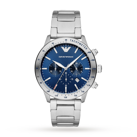 Armani Mario Blue Dial Gents Watch AR11306