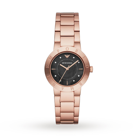 Armani Greta Rose Gold Tone Ladoes Watch AR11251