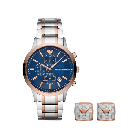 Emporio Armani Renato Gift Set Watch AR80025