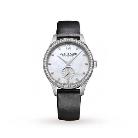 Chopard 18ct White Gold Mother of Pearl Ladies Watch