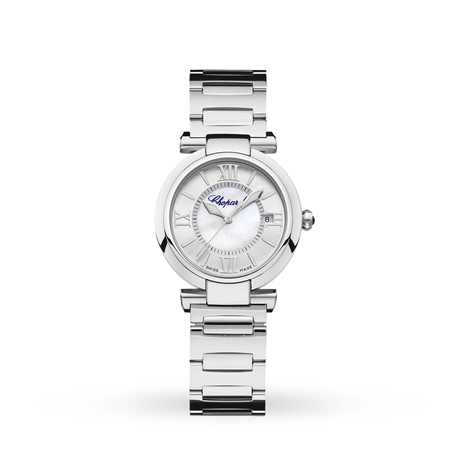 Chopard Imperiale 29mm Automatic Stainless Steel and Amethyst Ladies Watch