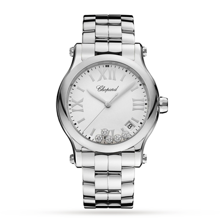 Chopard Happy Sport 36mm Ladies Watch 278582-3002