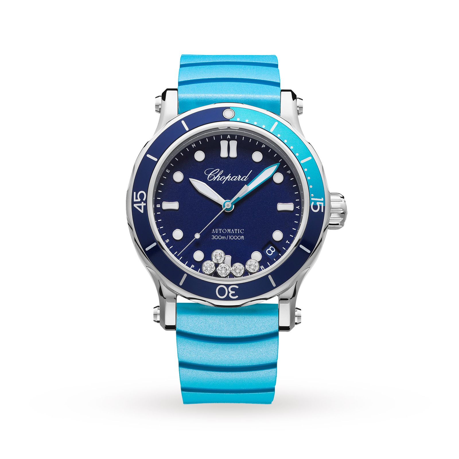 Chopard Happy Ocean Stainless Steel Automatic Ladies Watch