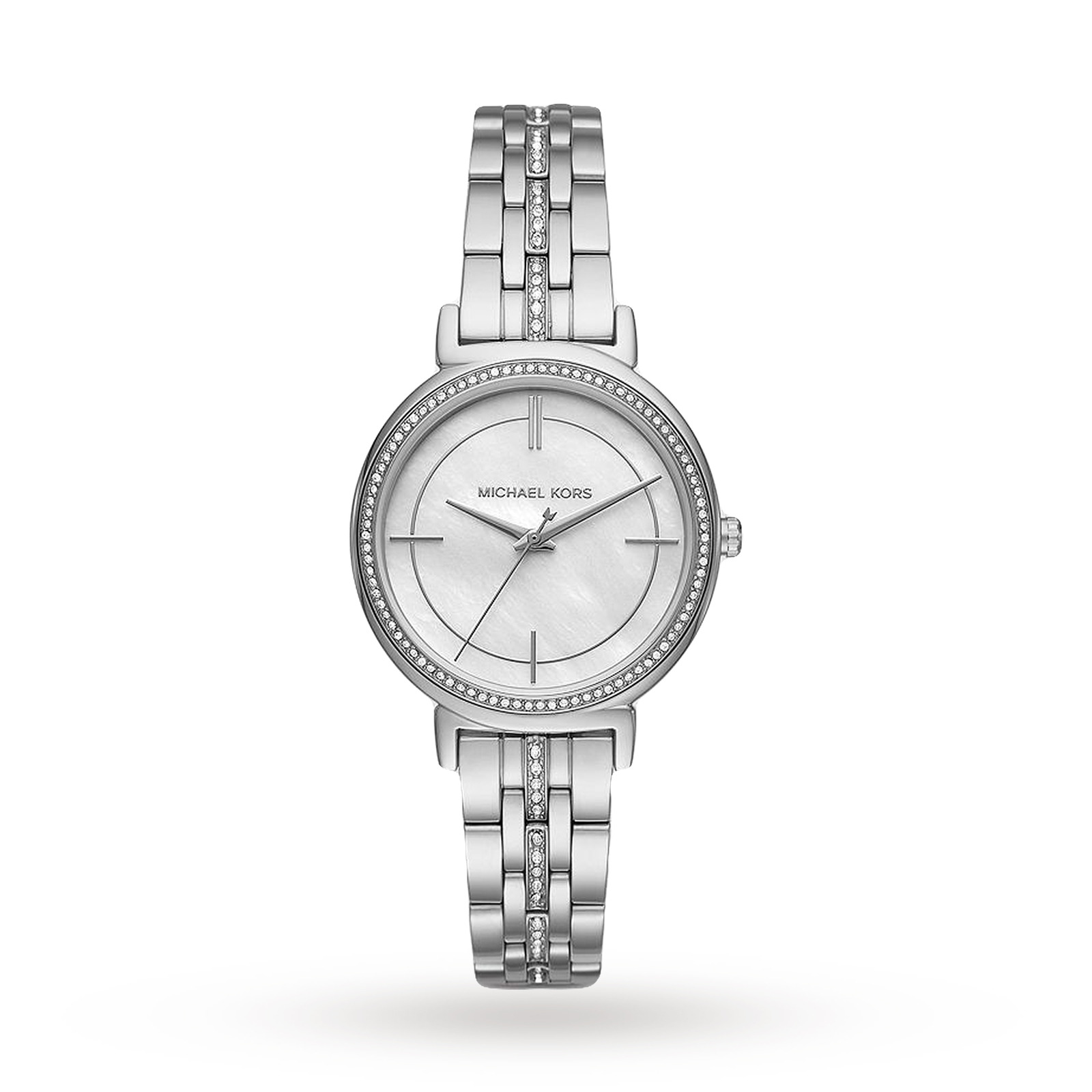 Michael Kors Cinthia Stainless-Steel Three-Hand Watch