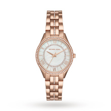 For Her - Michael Kors Gold Tone Three-Hand Watch - MK3716