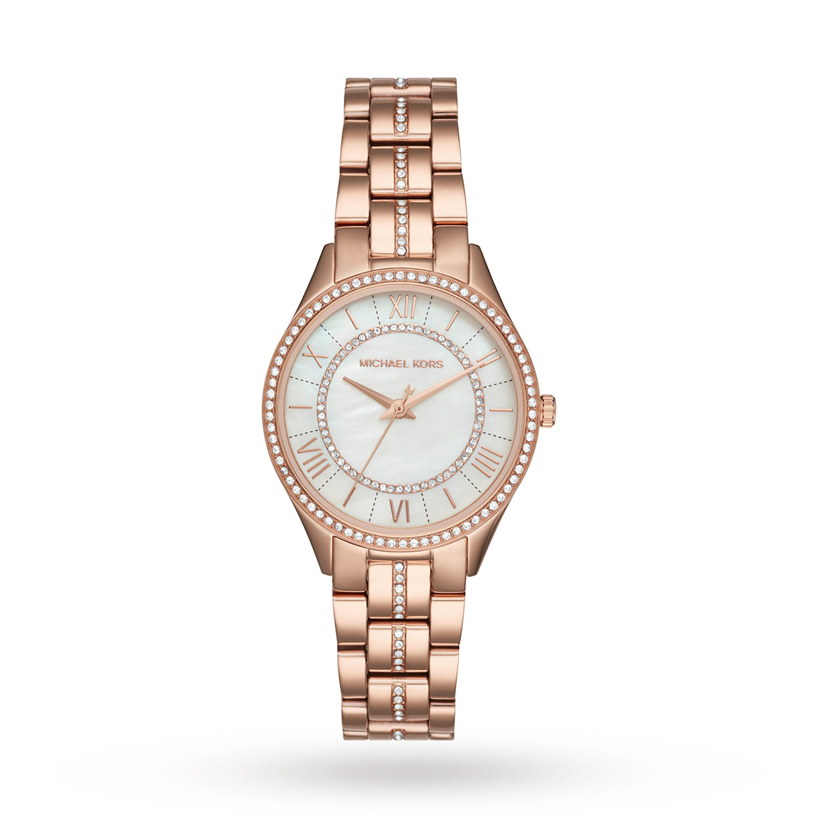 Michael Kors Gold Tone Three-Hand Watch