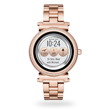 Michael Kors Access Rose Gold-Tone Ladies Smartwatch