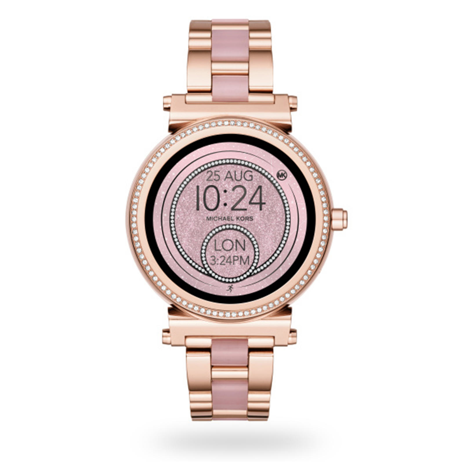 cf1ac0122f5f Michael Kors Access Rose Gold-Tone Ladies Smartwatch
