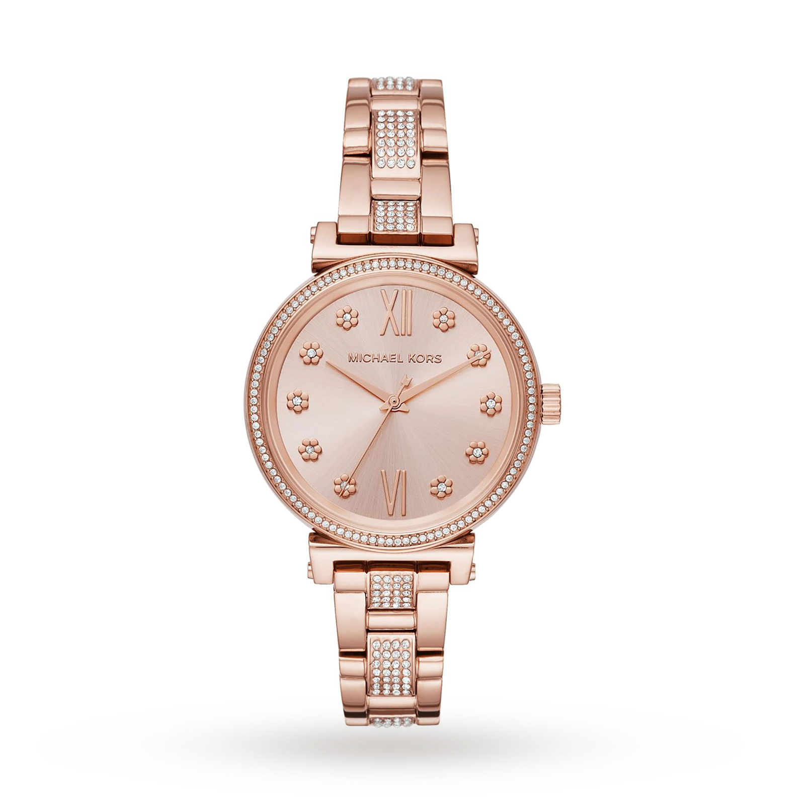 Michael Kors Mini Rose Gold-Tone Ladies Watch