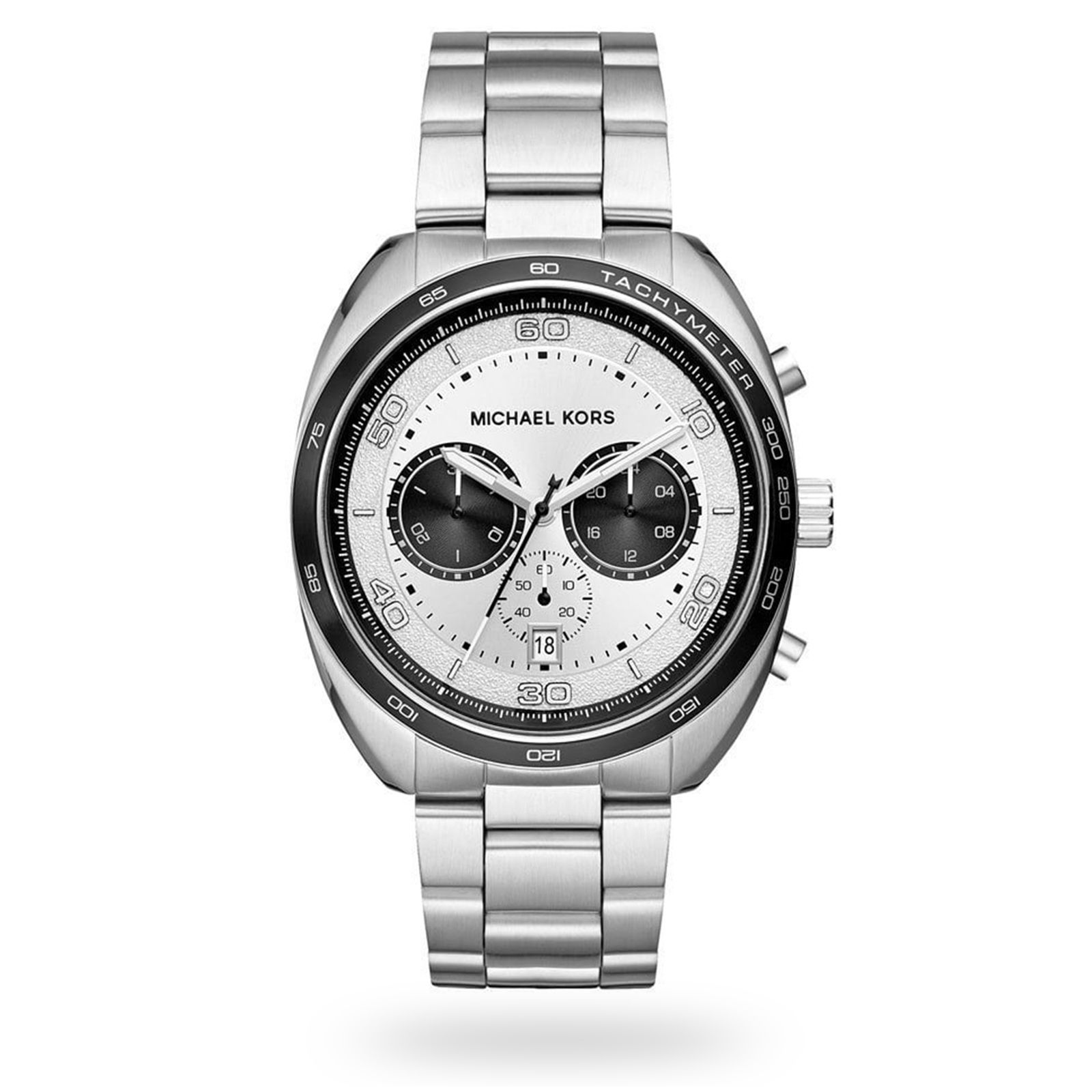 Michael Kors Stainless Steel Chronograph Mens Watch