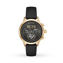 Michael Kors Access Runway Gold-Tone and Silicone Smartwatch