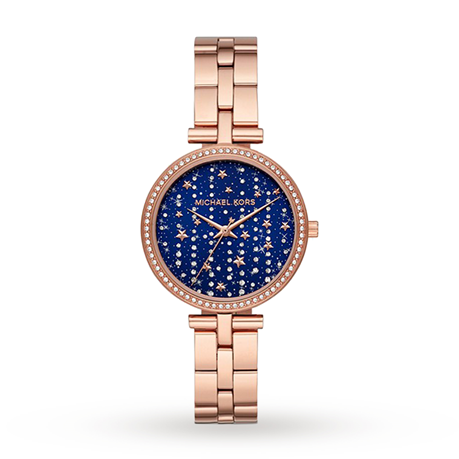 Michael Kors Maci Blue Dial Ladies Watch MK4415