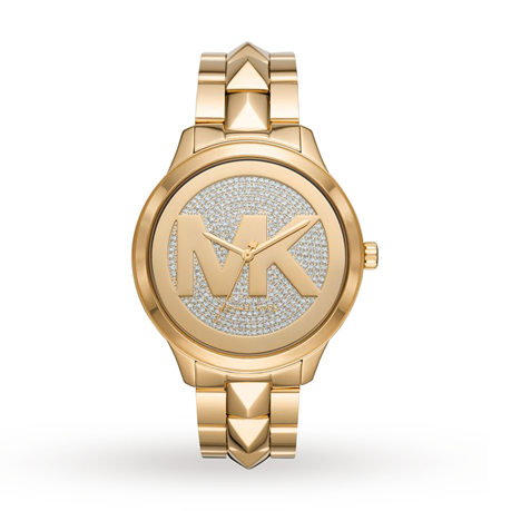 Michael Kors Runway Mercer Gold Tone Ladies Watch MK6714