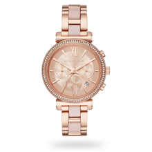 Michael Kors Sofie Rose Gold Tone Ladies Watch MK6560