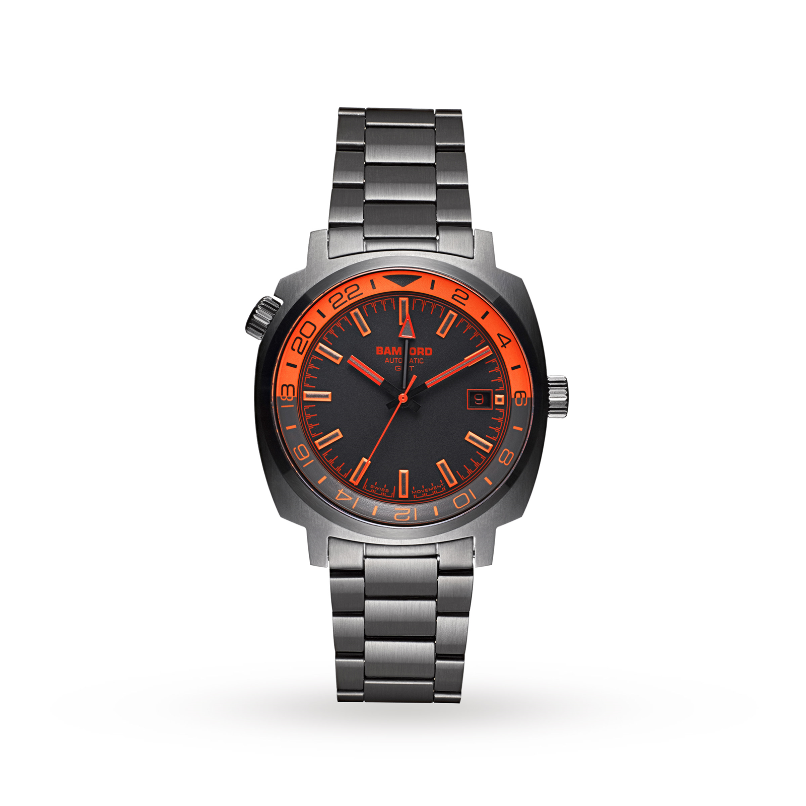 Bamford Gmt Gmt-Gry-Or-Blk