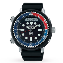 Seiko Prospex PADI Divers Pepsi Mens Watch SNJ027P1