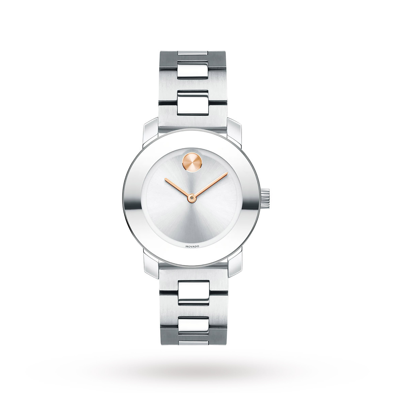 Movado Bold Sunset Dial Stainless Steel Ladies Watch