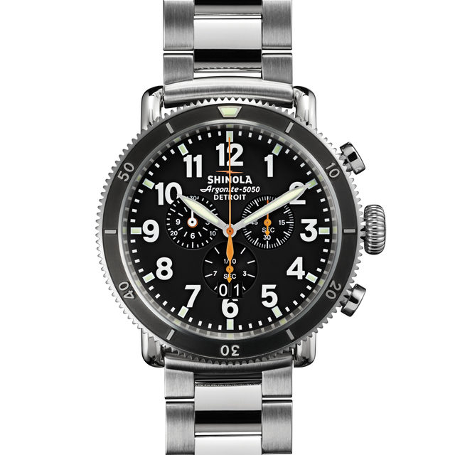 Shinola The Runwell Sport 48mm Chronograph Watch