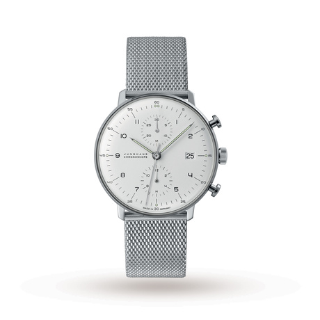 Junghans Unisex Max Bill Chronoscope Automatic Chronograph Watch