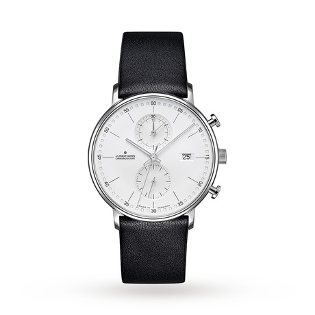 Junghans Mens FORM C Chronoscope Chronograph Watch